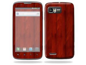 Mightyskins Protective Skin Decal Cover for Motorola Atrix 2 II (version 2) Cell Phone Sticker Cherry Wood