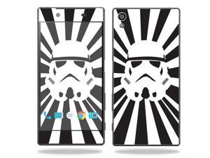 MightySkins Protective Vinyl Skin Decal for Sony Xperia Z5 case wrap cover sticker skins Star Rays