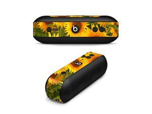 MightySkins Protective Vinyl Skin Decal for Beats By Dr. Dre Beats Pill Plus wrap cover sticker skins Sunflowers