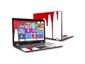 "MightySkins Protective Vinyl Skin Decal for Lenovo Yoga 700 14"" Screen case wrap cover sticker skins Blood Drip"