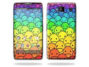 Mightyskins Protective Skin Decal Cover for Motorola Droid Razr Hd & Razr Maxx HD Cell Phone wrap sticker skins Happy Face