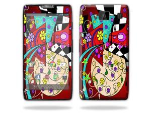Mightyskins Protective Vinyl Skin Decal Cover for Motorola Droid Razr Maxx Android Smart Cell Phone wrap sticker skins - Eye Candy