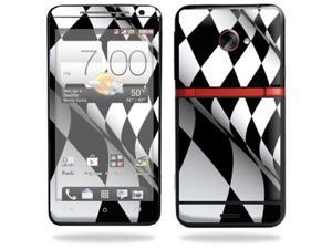 Skin Decal cover for HTC Evo 4G LTE Sprint Sticker sticker Checkered Flag