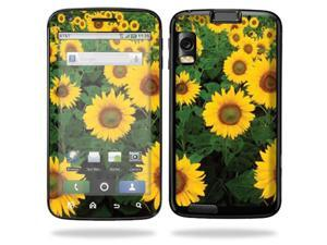 Skin Decal Wrap for Motorola Atrix 4G Sunflowers