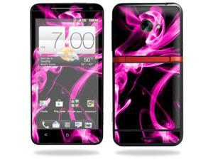 Skin Decal cover for HTC Evo 4G LTE Sprint Sticker sticker Pink Flames