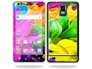 Skin Decal Wrap for Samsung Infuse 4G Cell Phone sticker Colorful Flowers