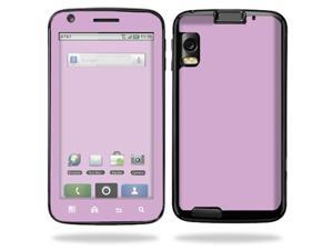 Skin Decal Wrap for Motorola Atrix 4G Solid Purple