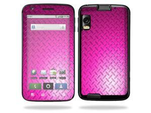 Skin Decal Wrap for Motorola Atrix 4G Pink Dia Plate