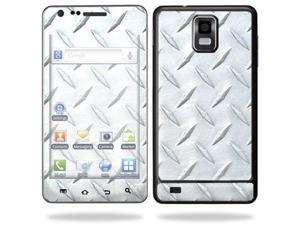 Skin Decal Wrap for Samsung Infuse 4G Cell Phone sticker Diamond Plate