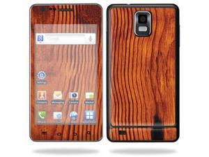 Skin Decal Wrap for Samsung Infuse 4G Cell Phone sticker Knotty Wood