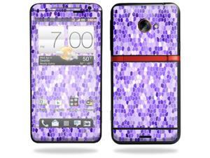 Skin Decal cover for HTC Evo 4G LTE Sprint Sticker sticker Stained Glass