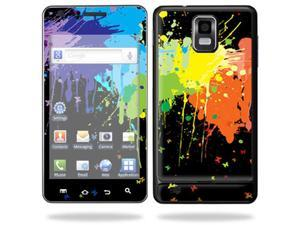 Skin Decal Wrap for Samsung Infuse 4G Cell Phone sticker Splatter