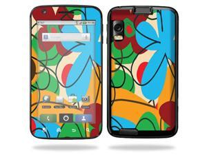 Skin Decal Wrap for Motorola Atrix 4G Fun Flowers