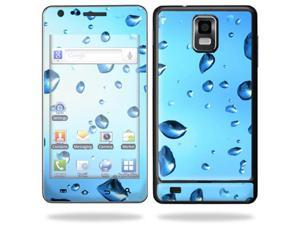 Skin Decal Wrap for Samsung Infuse 4G Cell Phone sticker Water Droplets