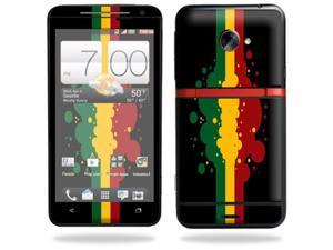Skin Decal cover for HTC Evo 4G LTE Sprint Sticker sticker Rasta Flag