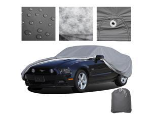 Outdoor 5 Layers Stormproof Vehicle Cover For Car - Small
