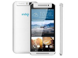 "Indigi® StylisH M7 3G Unlocked Quad-Core Smart Cell Phone Android 4.4 JB 5.5"" Capacitive Touch Screen UNLOCKED [AT&T / T-Mobile / StraighTalk / NET10 / Simple Mobile / Airvoice]"