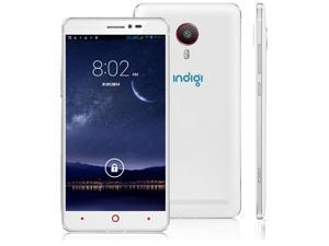 "Indigi® V13 DualCore 3G Smart Phone 5.5"" Capacitive 2-Sim Android 4.4 GSM Unlocked - AT&T T-Mobile Straightalk Simple Mobile Net10"