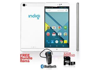 Indigi® Stylish NEW 2016 GSM Unlocked Android 5.1 Lollipop 2sim Android - FREE Bundle Items!