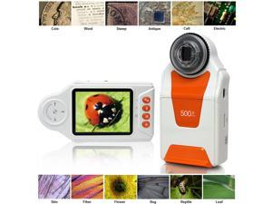 "Indigi® DM500x Digital Mobile Magnifier Microscope 500x ZOOM w/ 2.7"" Color LCD Display"