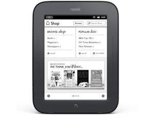 Barnes & Noble NOOK Simple Touch eReader BNRV300