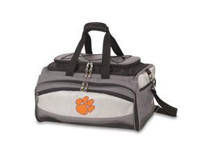 Buccaneer Digital Print Tote in Grey/Black - Clemson University Tigers