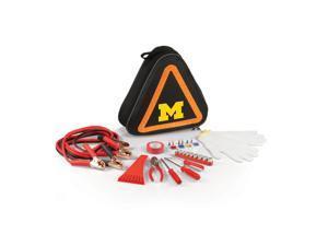 University of Michigan Wolverines Roadside Emergency Kit