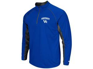 Kentucky Wildcats UK Tee Long Sleeve Athletic Quarter Zip