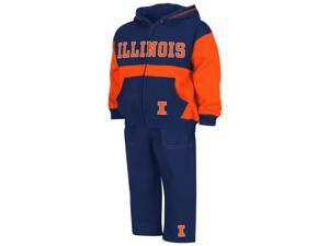 Infant Toddler University of Illinois Hoodie and Pants Set