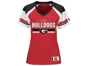 Women's Georgia Bulldogs UGA Jersey Draft Me Fashion Top