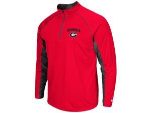 Georgia Bulldogs UGA Tee Long Sleeve Athletic Quarter Zip