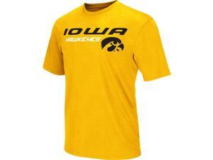 Men's Performance University of Iowa Hawkeyes Gridlock Tee