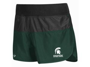 Triple Threat Michigan State University Compression Shorts