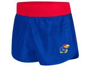 Kansas Jayhawks KU Women's Shorts Sprint Compression Bottoms