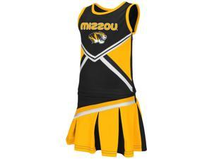 Toddler Missouri Tigers Mizzou Cheerleader Set Shout Outfit