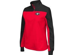 Georgia Bulldogs UGA Ladies Joust Quarter Zip Jacket