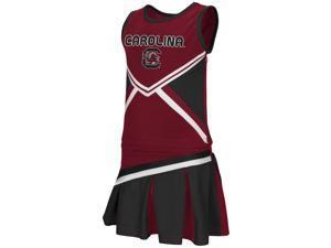 Toddler South Carolina Gamecocks Cheerleader Set Shout Outfit