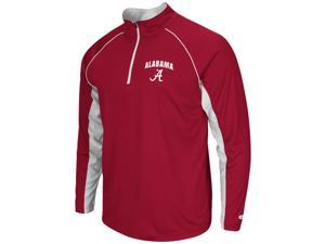 Alabama Crimson Tide Bama Tee Long Sleeve Athletic Quarter Zip