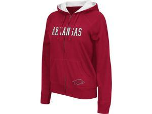 Juniors Arkansas Razorback Full Zip Hoodie