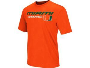 Men's Performance University of Miami Hurricanes Gridlock Tee