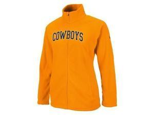 Oklahoma State University Women's Fleece Full Zip Jacket