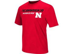 Men's Performance Nebraska Cornhuskers Gridlock Tee