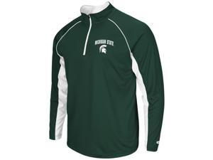 Michigan State University Tee Long Sleeve Athletic Quarter Zip