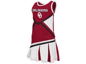 Toddler University of Oklahoma Sooners Cheerleader Set Shout Outfit