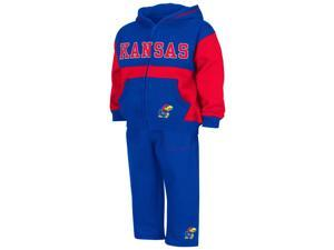 Infant Toddler Kansas Jayhawks KU Hoodie and Pants Set