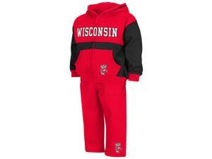 Infant Toddler University of Wisconsin Badgers Hoodie and Pants Set