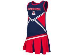 Toddler Arizona Wildcats Cheerleader Set Shout Outfit