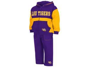 Infant Toddler LSU Tigers Louisiana State Hoodie and Pants Set
