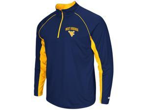 West Virginia Mountaineers Tee Long Sleeve Athletic Quarter Zip