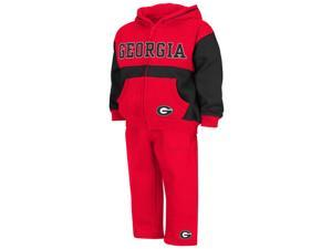Infant Toddler Georgia Bulldogs UGA Hoodie and Pants Set